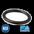 O-ring NBR 70 Zwart FDA / NSF61