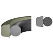 Zuigerafdichting PTFE Brons O-ring FKM 80