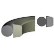 Stangafdichting PTFE Brons O-ring NBR 70